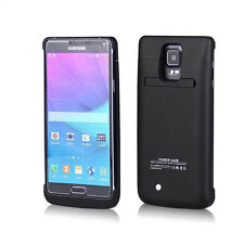 Samsung Galaxy Note 4 External Battery Power Bank Case 4800mAh Charger US