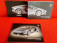 2013 2014 LAMBORGHINI AVENTADOR LP 700-4 ROADSTER OWNERS MANUAL +QUICK GUIDE