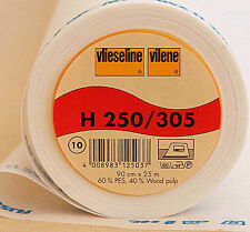 Vilene interfacciamento 305 / H250 (bloccata) venduti al metro white-for COLLARI, APPLIQUE