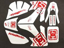 DC GRAPHICS DECAL STICKERS HONDA CRF 50 SDG SSR 107 110 125 U DE01