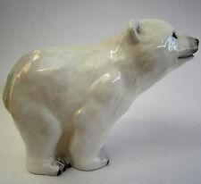 """New boxed JOHN BESWICK Polar Bear Cub ceramic ornament figure JBAB1 10cm, 4"""""""