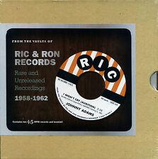 """RIC & RON RECORDS  """"RARE AND UNRELEASED RECORDINGS 1958 - 1962"""" 10 RECORDS"""
