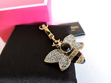 Juicy Couture Bumble Bee 3D with Multi-Colored Pave Crystal Charm NEW IN BOX