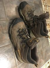 Columbia Hiking Boots Shoes US 10 Brown