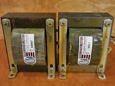 ALTEC/PEERLESS 15067 TUBE AMP AUTOFORMER OUTPUT TRANSFORMER PAIR, ( SINGLE END )