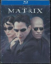 The Matrix: STEELBOOK Edition (Blu-ray Disc, 2013, Canadian) BRAND NEW