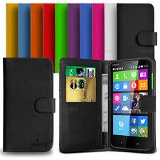 Custodia Case Flip Cover Pelle Portafogli Libro Per Nokia Lumia X2 + Pellicola
