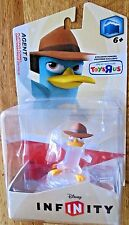 Disney Infinity 1.0 figure Crystal AGENT P Toys R Us Exclusive NEW!