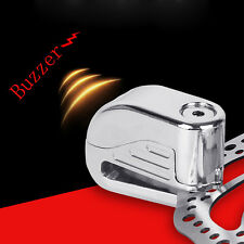 Motorcycle Bicycle Pit Bike Security Anti-theft Disc Disk Brake Wheel Alarm Lock