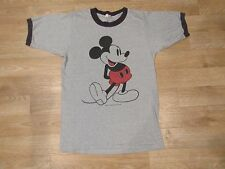 Vintage Tropix Togs Mickey Mouse Walt Disney Ringer T Shirt Small