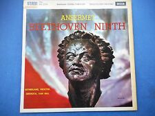 SXL 2274 Beethoven Symphony no.9 'Choral' Ansermet  wbg ed.1  Ex