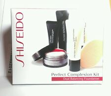 Shiseido Perfect Complexion Kit  Dual Balancing Foundation / primer / concealer