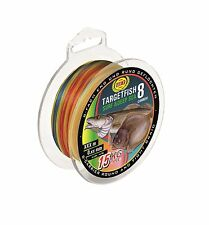 WFT TargetFish Surf & Deep Sea 300m 8-fach 0,30mm multicolor 28kg (0,07€/1m) Top