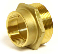 "NNI FIRE HOSE HYDRANT HEX ADAPTER 2"" Female NPT x 2-1/2"" Male NST NH HSR-A2025FM"