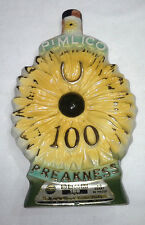 Jim Beam PIMLICO Decanter 100 Yrs. Preakness Horse Racing