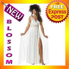 C169 Athenian Goddess Greek Medieval Fancy Dress Womens Adult Costume S M L XL