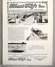 Correct Craft Sedan Cruiser Boat PRINT AD - 1948 ~ Dart