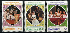 Dominica 1978 SG#612-4 25th Anniv Of Coronation P12 MNH Set #D38118