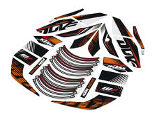 NEW KTM RACELINE STICKER KIT DECALS 125 200 390 DUKE 2015-2016 90608999000