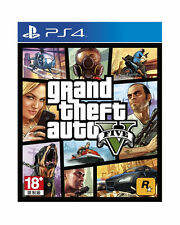Grand Theft Auto V, GTA 5, Disc, PlayStation 4, 2014, English Chinese, Pre-Owned