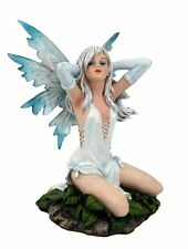Blonde Sexy Fairy Figurine - Fantasy Figurine Resin -Zem