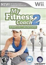 My Fitness Coach 2: Exercise and Nutrition WII New Nintendo Wii