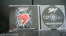 The Darkness - I Believe In A Thing Called Love 5 Track CD Single Incl Video
