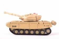 Radio Remote Control RC Battle Army Tank 1/58 Metal 6 Channel Light Rechargeable