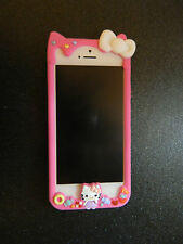 Melting Ice Cream Hello Kitty Bumper Case for iPhone 5 5G