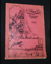 """1941 N. Shure Co. Wholesale Sporting Goods Catalog. 9"""" x 12"""" with 64 pages. Good"""