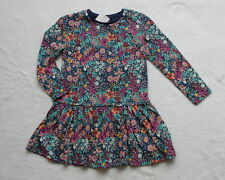 ***BNWT Next girl Floral long sleeve cotton dress 2-3 years***