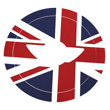 1set UK Flag Pattern Vinyl Sticker Decal For Mini Cooper Steering Wheel Cover