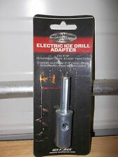 "Strikemaster Electric Ice Drill adapter fits 4"" to 8"" StrikeMaster, Mora & Lazer"