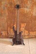 Spector Legend Classic 4 String Electric Bass EMG pickups Trans Black + HDSC