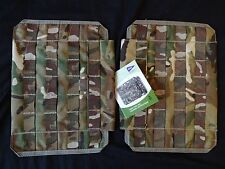 PACK OF 2X British Army Osprey MK4 Side Plate Pockets - MTP - NEW / UNISSUED
