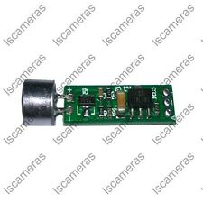 Sound Monitor Microphone Security Pickup Recording Board Spy Bug for FPV audio