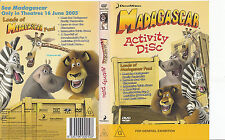 Madagascar:Activity Disc-Dreamworks-Children-DVD