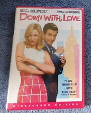 DOWN WITH LOVE DVD BRAND NEW RENEE ZELLWEGER & EWAN MCGREGOR