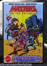 "Masters of the Universe Comic Book Ad 2"" X 3"" Fridge Magnet. He-Man Skeletor"