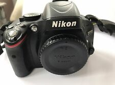 Nikon D D5100 16.2 MP Digital SLR Camera - Black Body Bundle Not Working