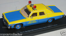 "Auto World 1/43 NYSP New York State Police 1974 Dodge Monaco ""Sunoco Special"""