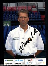 Marcel de Geus Feyenoord Rotterdam AK 90er Jahre Original Signiert +A52551
