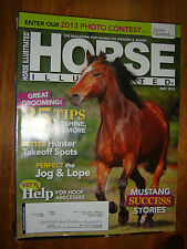 May 2013 Horse Illustrated : 35 Tips to Shine Detangle & Morer, Jog Lope POSTERS