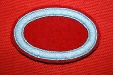 WWII 501ST PARACHUTE INFANTRY REGIMENT OVAL AIRBORNE WING BACKING 501 PIR