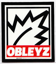 OBLEYZ Sticker Parotee Marijuana Collectible Funny Decal Weed Ganja Bong Smoke