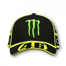 CAP OFFICIAL MOTOGP 2016 VALENTINO ROSSI MONSTER REPLICA MONZA SIZE U ADJUSTABLE