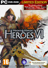 Heroes of M&M Might & Magic VI 6 LIMITED  with Heroes 3 III Complete, Metal Case