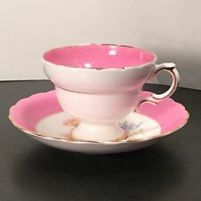 Rosina - Rose Floral Pink - Tea Cup & Saucer - ONE - 1 - England - Bone China BV