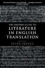 The Oxford Guide to Literature in English Translation, , Acceptable Book