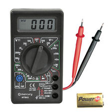 AC/DC Multimeter Electronic Multi Tester Digital Meter Multimeter Volt Meter